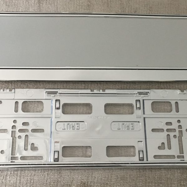Chrome Number Plate Surround